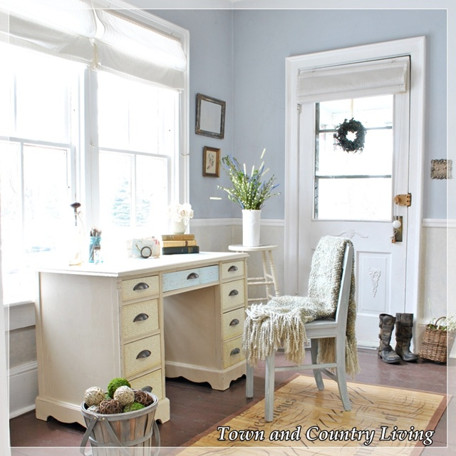 Office Entry Foyer : Turning an awkward space into something useful town