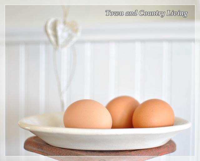 Brown farm eggs