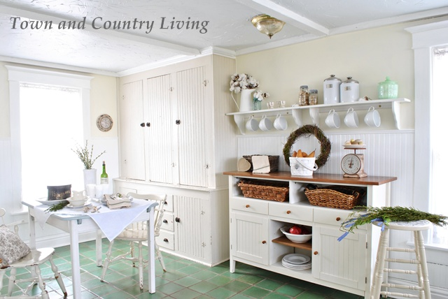 Town And Country Living Kitchen