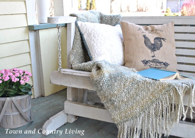 Shabby Front Porch Swing