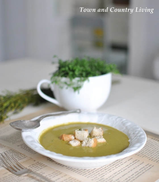 Spring Green Soup