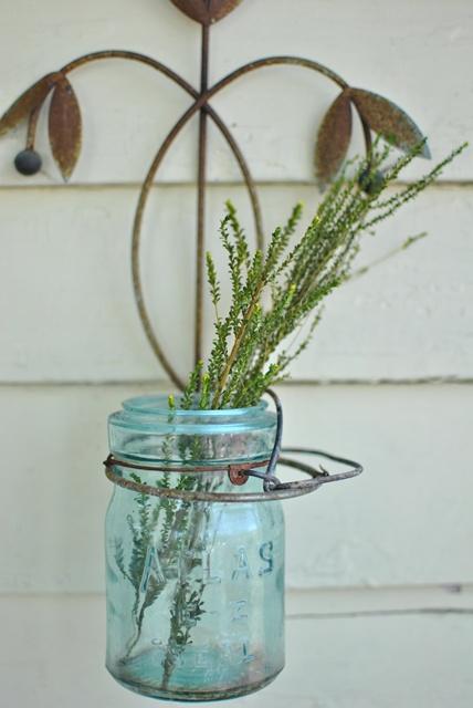Blue Atlas Jar
