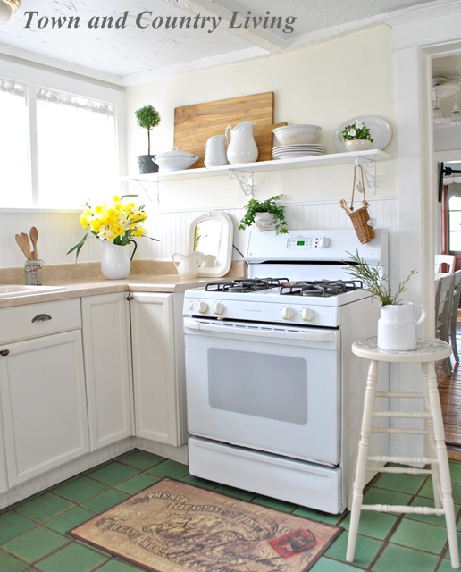 Kitchen Design With Open Shelving: Open Shelving In Our Farmhouse Kitchen