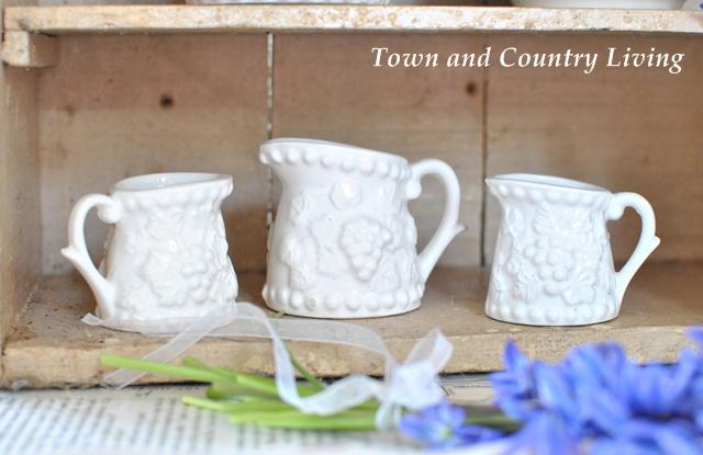 White Ceramic Measuring Cups