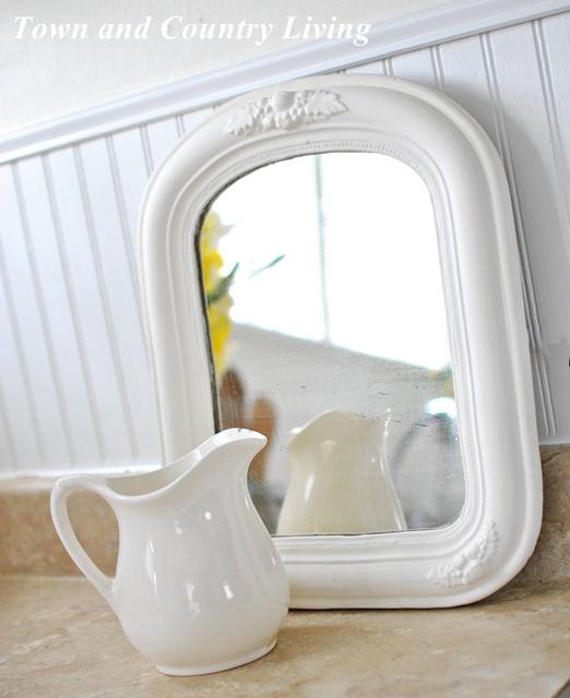 Shabby mirror