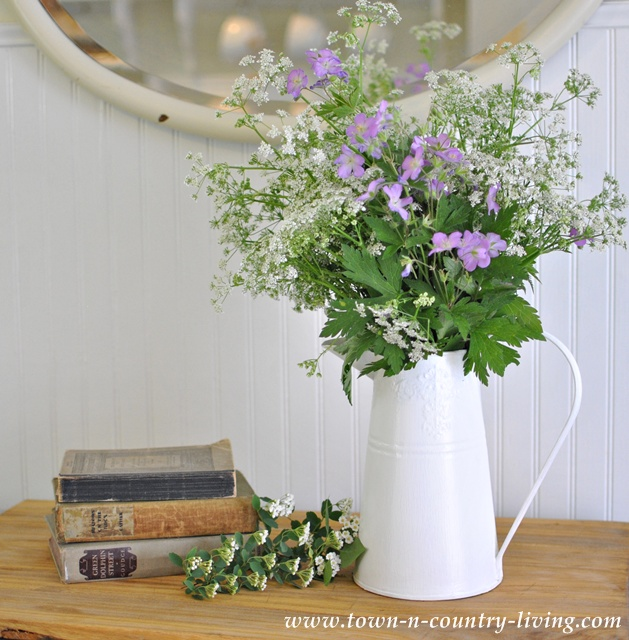 Wildflowers in Pitcher