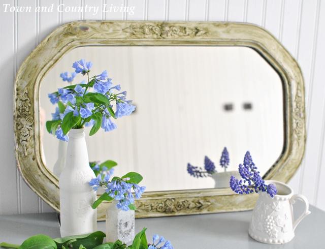 Vintage Aged Mirror