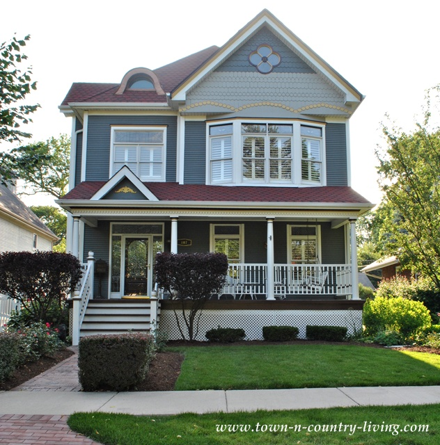 Parade Of Homes Paint Color Scheme And Tour: Home Tour In The Historic District Of Naperville Illinois