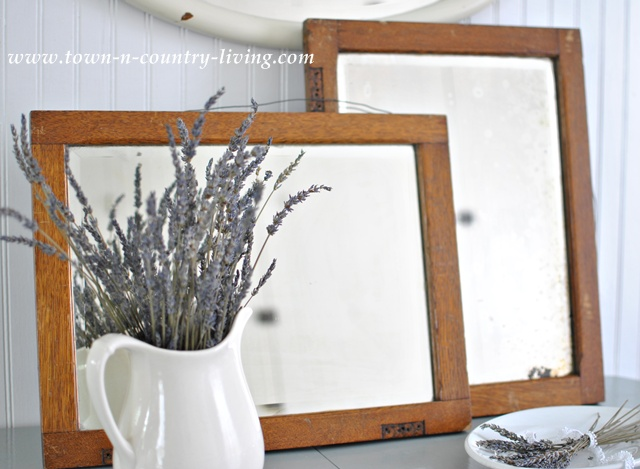 Flea Market Find Vintage Mirrors