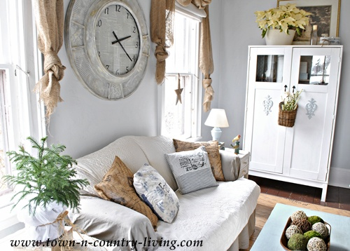 Country style decorating in the family room town - Country style decoration ...