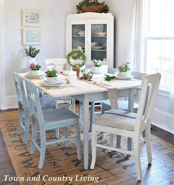 Country Garden Table Setting
