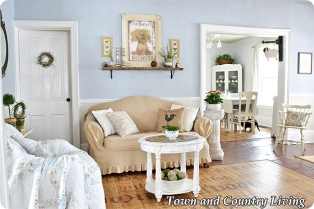 Town and Country Living Room