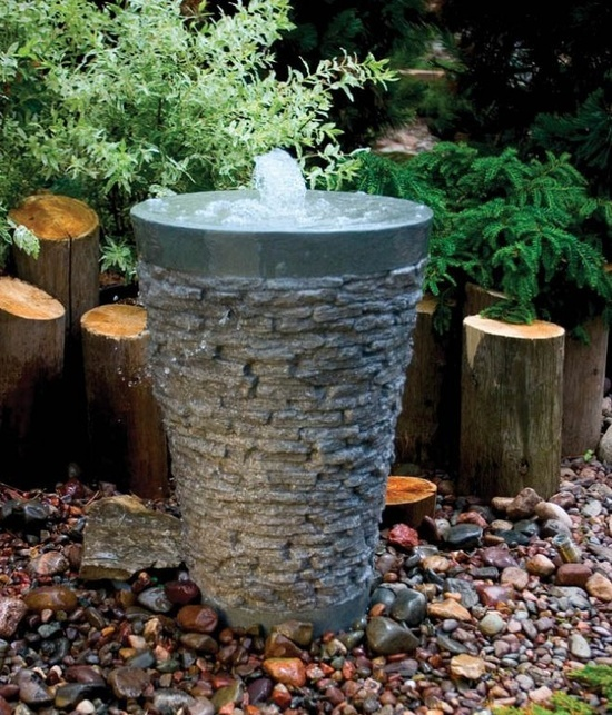Choosing A Garden Fountain For The Yard Town Amp Country Living