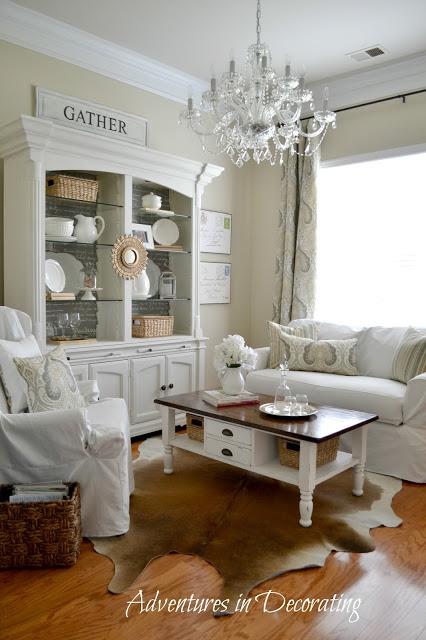 Adventures in Decorating Sitting Room