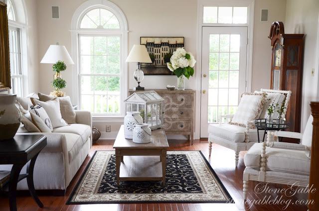 Stonegable Blog Living Room