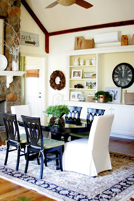 Top This Top That Dining Space
