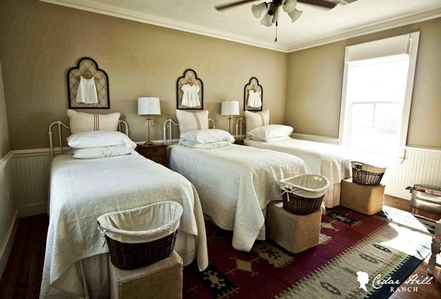 Cedar Hill Ranch Bedroom - Summer Showcase of Homes