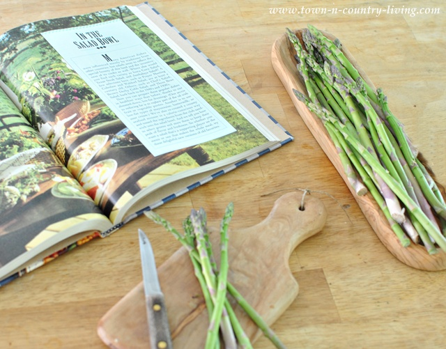 Cooking in a Farmhouse Country Kitchen via Town and Country Living