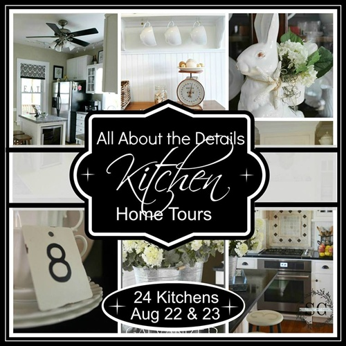 Kitchen Details Tour - via Town and Country Living
