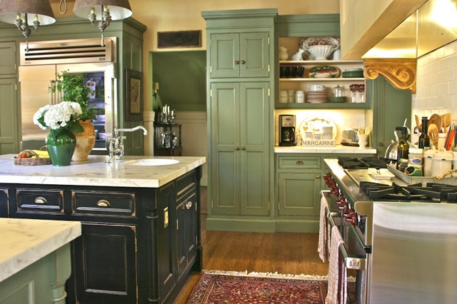Vignette-Design Kitchen via Summer Showcase of Homes