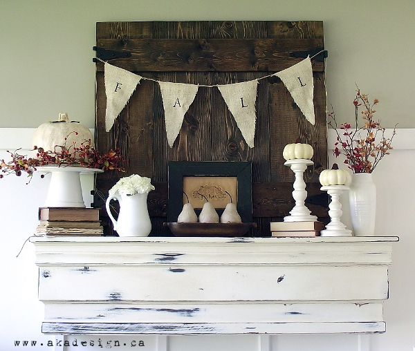2012 Fall Mantle by AKA Design - http://www.akadesign.ca