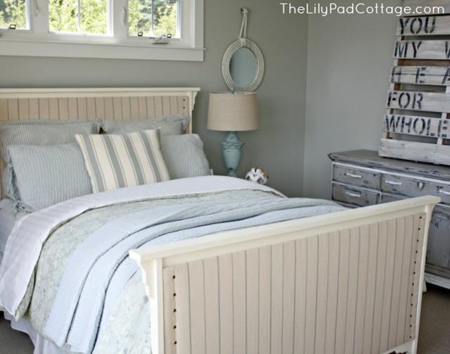 Bedroom at Lilypad Cottage
