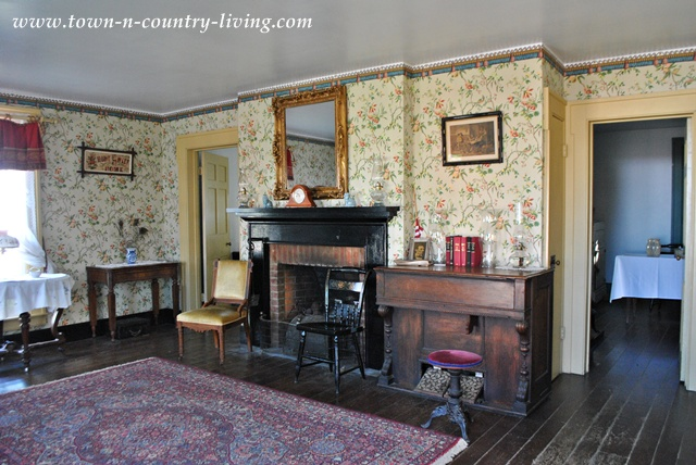 Historic home at Country Living Fair via Town and Country Living