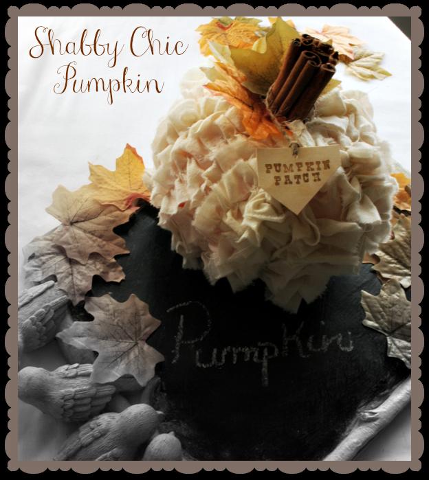 Shabby-Chic-Pumpkin-Cupcakes-and-Crinoline via www.cupcakesandcrinoline.com