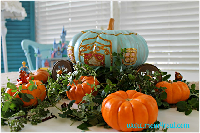 Cinderalla Pumpkin by Mom 4 Real