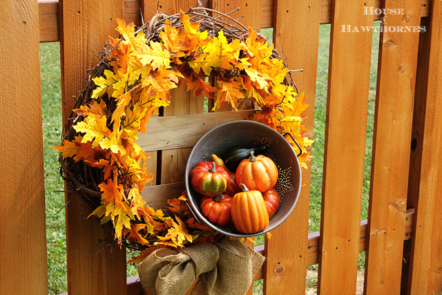 Fall Wreath by House of Hawthornes