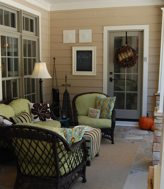Fall Porch at Imparting Grace