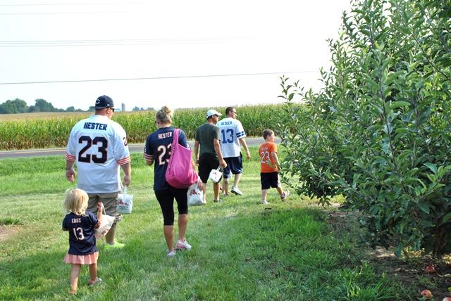 Kuiper's Family Farm apple orchard in Illinois
