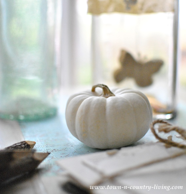 Fall Decorating Details via Town and Country Living