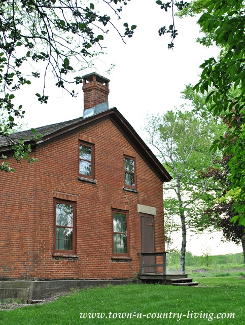 Historic Durant House at Leroy Oakes Forest Preserve