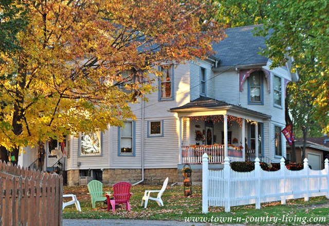 Victorian house in my hometown via Town and Country Living