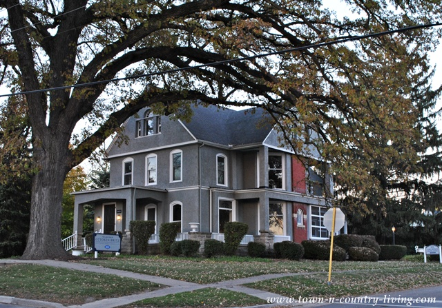 Cute houses in my hometown via Town and Country Living