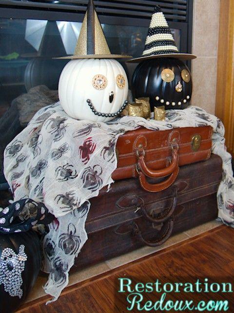 Restoration Redoux Halloween Decor