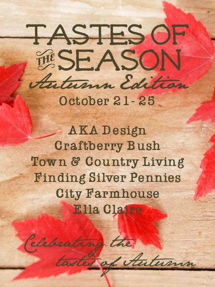 Tastes of the Season via Town and Country Living