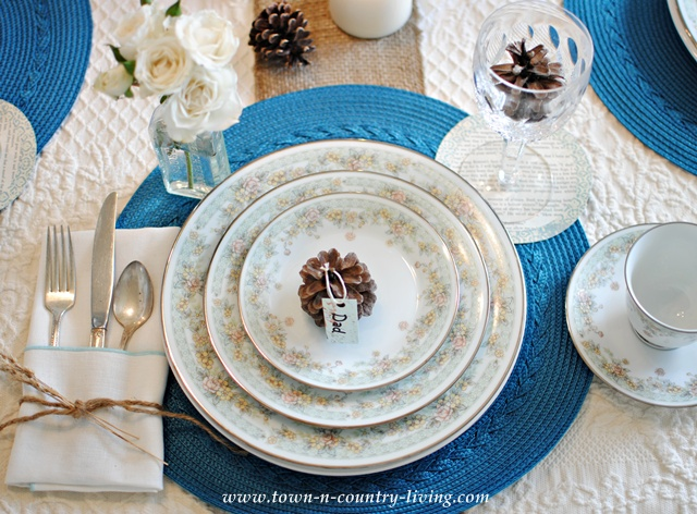 Spring Field China by Noritake via Town and Country Living