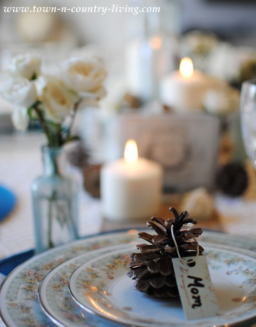 Thanksgiving Table Setting Dedicated to my Mother - Town and Country Living