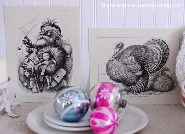 November Flea Market Haul - vintage graphics for crafts