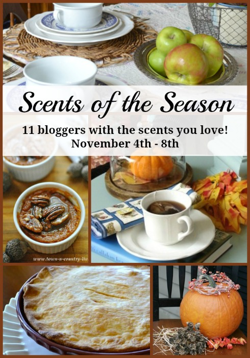 Scents of the Season via Town and Country Living