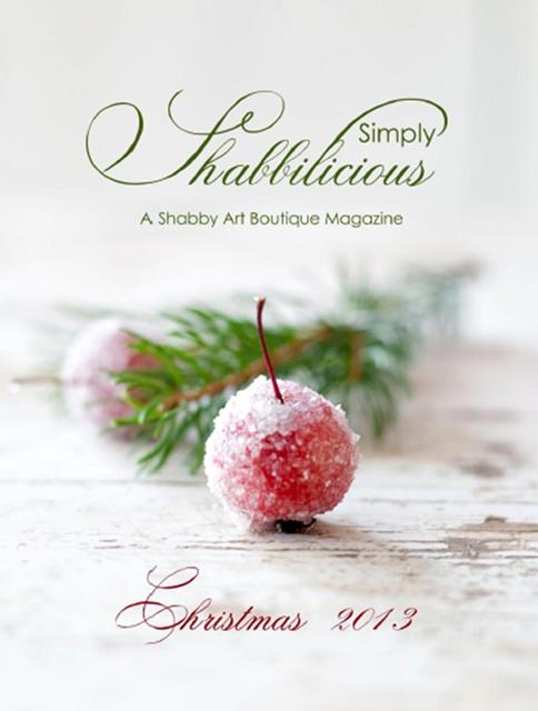 Free Christmas Magazine - Simply Shabbilicious
