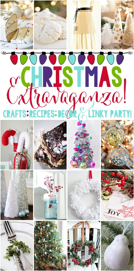 Christmas Extravaganza Party via Town and Country Living