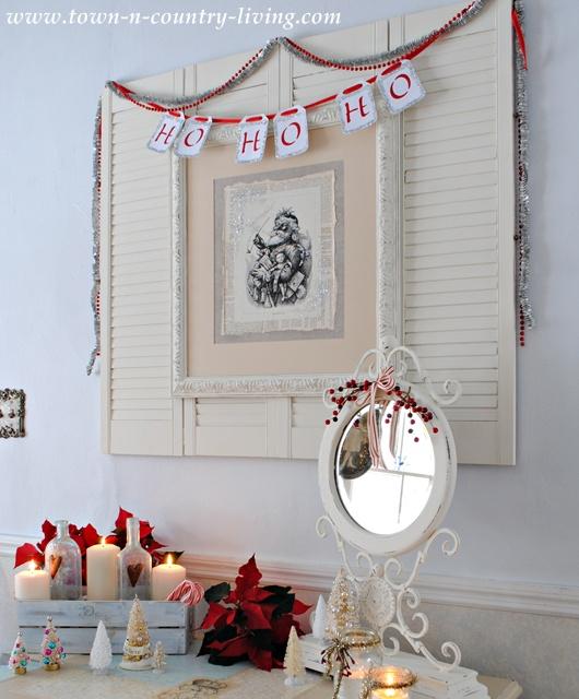 DIY Santa Claus Picture