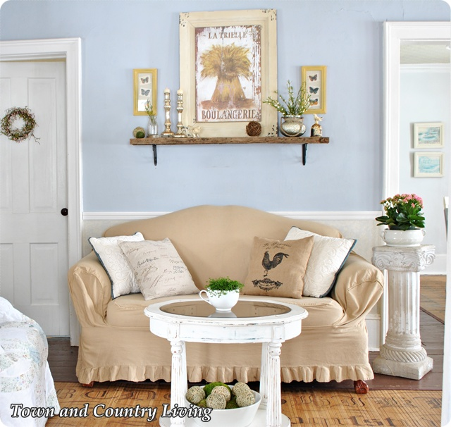 Farmhouse Decorating Tips via Town and Country Living