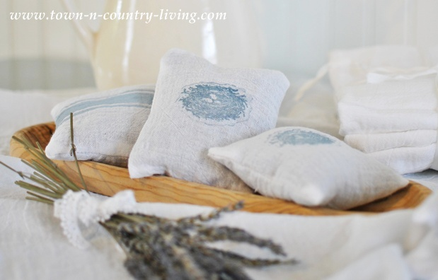 French Lavender Sachets by Town and Country Living