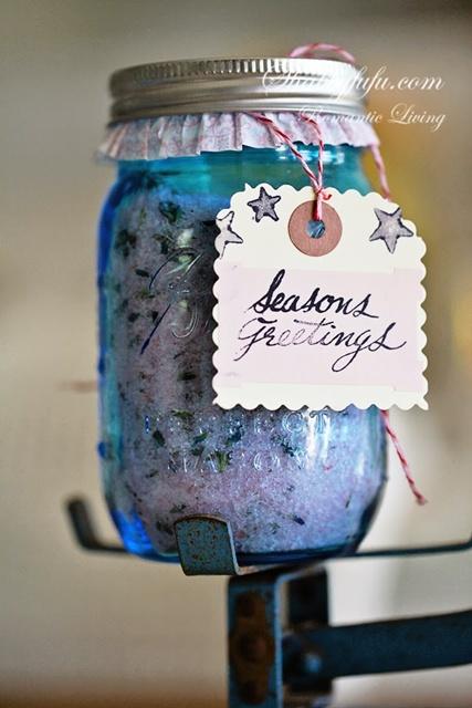 Lavender Salt Bath Soak by Shabby FuFu