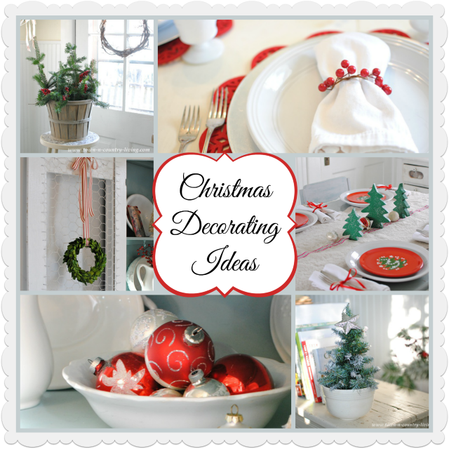 Christmas Decorating Ideas from Town and Country Living