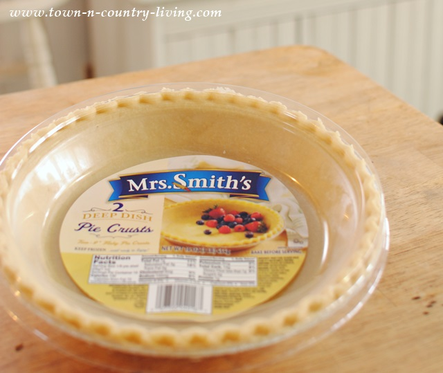 Frozen pie crust for quiche recipe